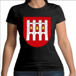 koszulka czarna damska gmina Rutki