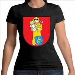 koszulka czarna damska gmina Szumowo