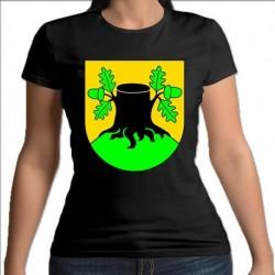 koszulka czarna damska gmina Szypliszki