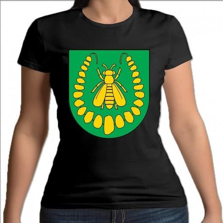 koszulka czarna damska gmina Turośl