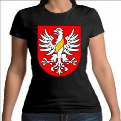 koszulka czarna damska gmina Wiżajny