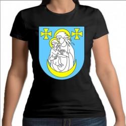 koszulka czarna damska gmina Wysokie Mazowieckie
