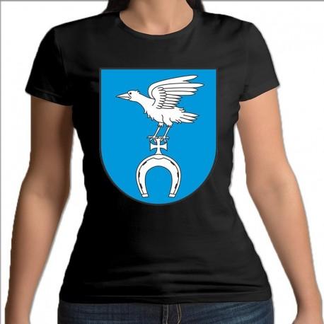 koszulka czarna damska gmina Wyszki