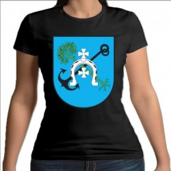 koszulka czarna damska Jedwabne