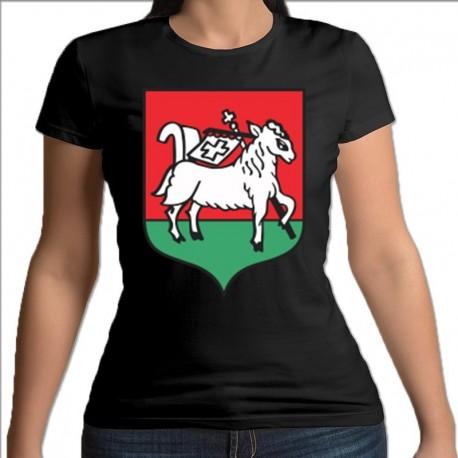 koszulka czarna damska Kleszczele