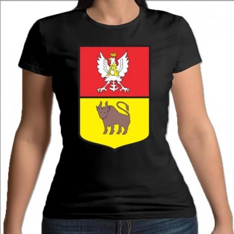 koszulka czarna damska Knyszczyn