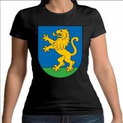 koszulka czarna damska Krynki