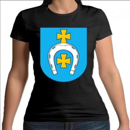 koszulka czarna damska Łapy