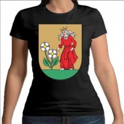 koszulka czarna damska Mońki