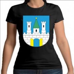 koszulka czarna damska Nowogród