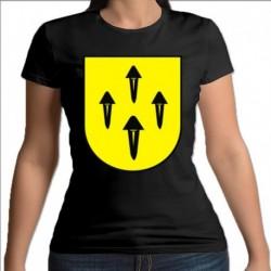 koszulka czarna damska Rajgród