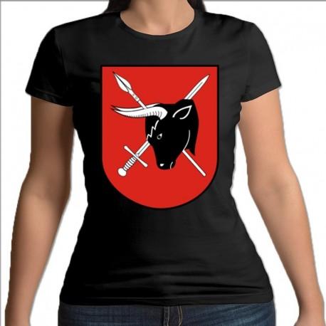 koszulka czarna damska Sejny