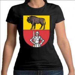 koszulka czarna damska Sokółka