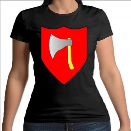 koszulka czarna damska Stawiski