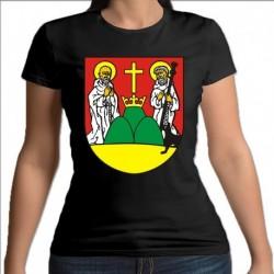 koszulka czarna damska Suwałki