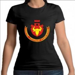 koszulka czarna damska Tykocin