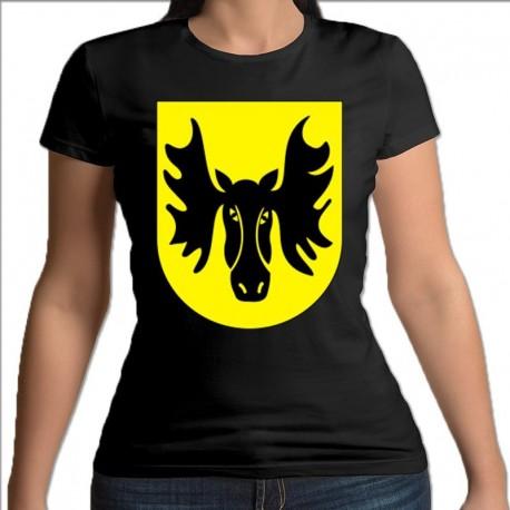 koszulka czarna damska Wasilków