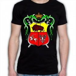 koszulka czarna Drogiczyn