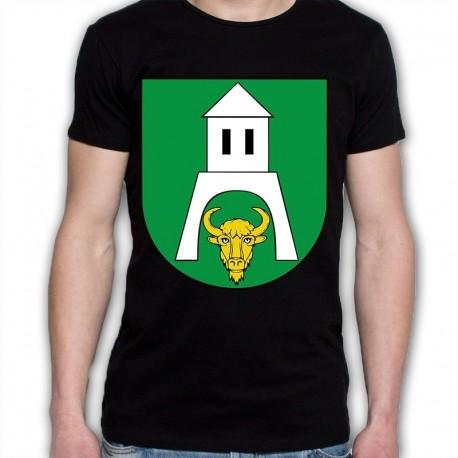 koszulka czarna gmina Białowieża