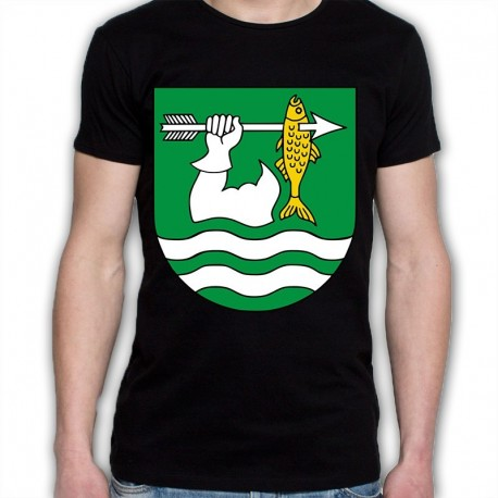 koszulka czarna gmina Giby