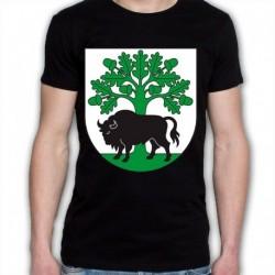 koszulka czarna gmina Hajnówka