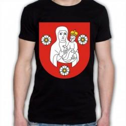 koszulka czarna gmina Juchnowiec Kościelny