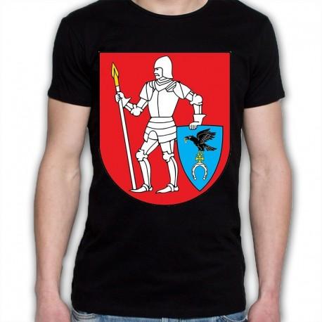 koszulka czarna gmina Kulesze Kościelne