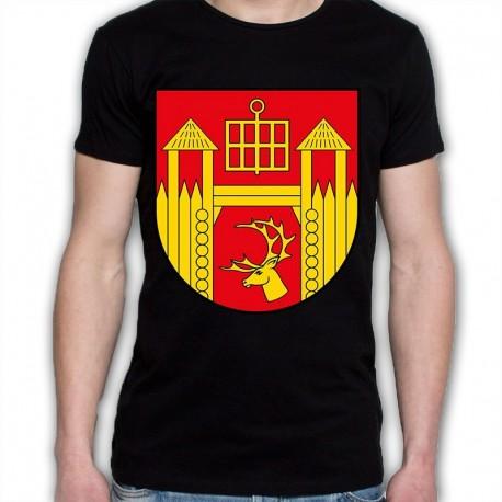 koszulka czarna gmina Łomża