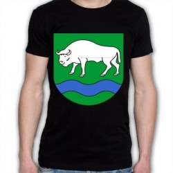 koszulka czarna gmina Narewka