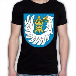 koszulka czarna gmina Nowe Piekuty