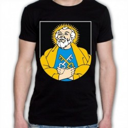koszulka czarna gmina Puńsk