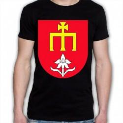 koszulka czarna gmina Skórzec