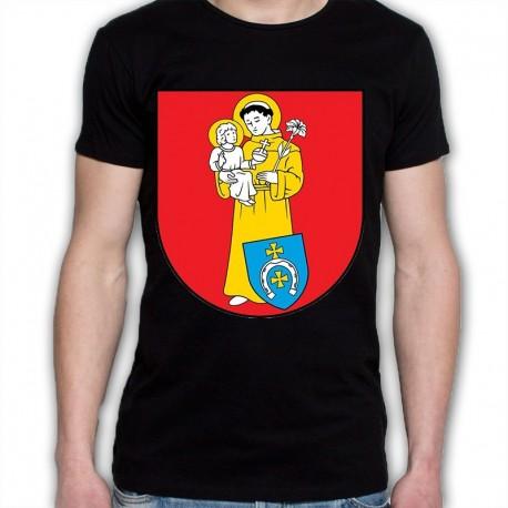 koszulka czarna gmina Szumowo