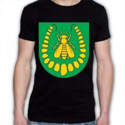koszulka czarna gmina Turośl