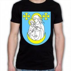 koszulka czarna gmina Wysokie Mazowieckie