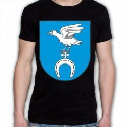 koszulka czarna gmina Wyszki