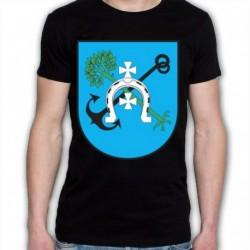koszulka czarna Jedwabne