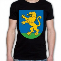 koszulka czarna Krynki