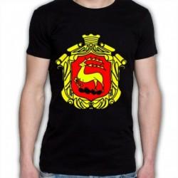 koszulka czarna Łomża