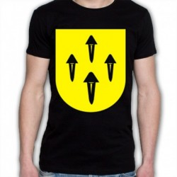 koszulka czarna Rajgród