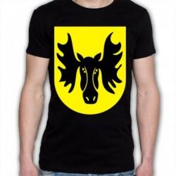 koszulka czarna Wasilków