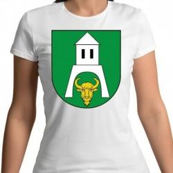 koszulka damska gmina Białowieża
