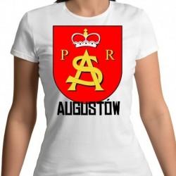 koszulka damska herb Augustów