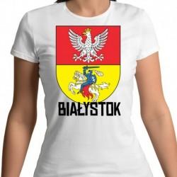 koszulka damska herb Białystok