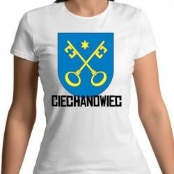 koszulka damska herb Ciechanowiec