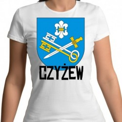 koszulka damska herb Czyżew