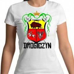 koszulka damska herb Drogiczyn