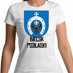 koszulka damska herb gmina Bielsk Podlaski