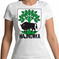 koszulka damska herb gmina Hajnówka