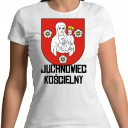 koszulka damska herb gmina Juchnowiec Kościelny